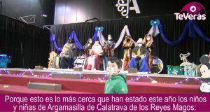 Los Reyes Magos visitan Argamasilla de Calatrava.